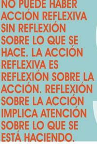 La acción reflexiva